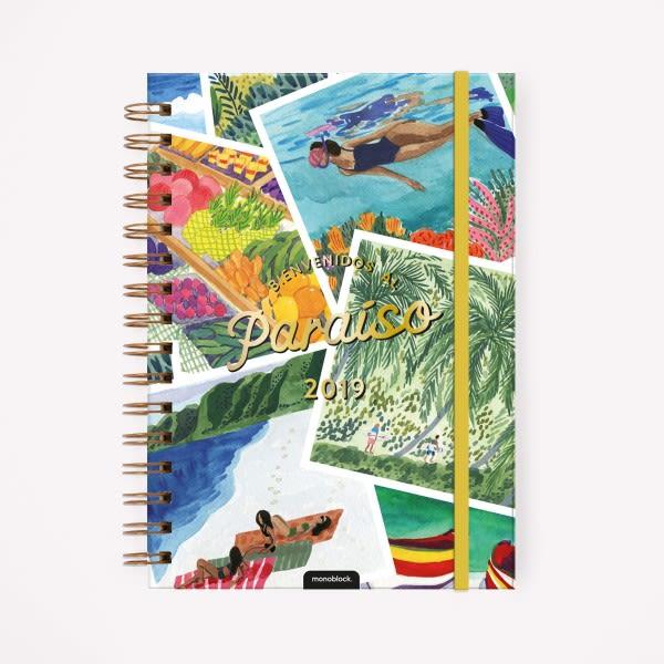 Agenda 2019 A5 De Viaje Playa Paraiso