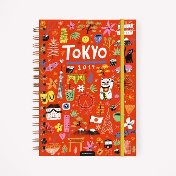 Agenda 2019 A5 De Viaje Tokyo