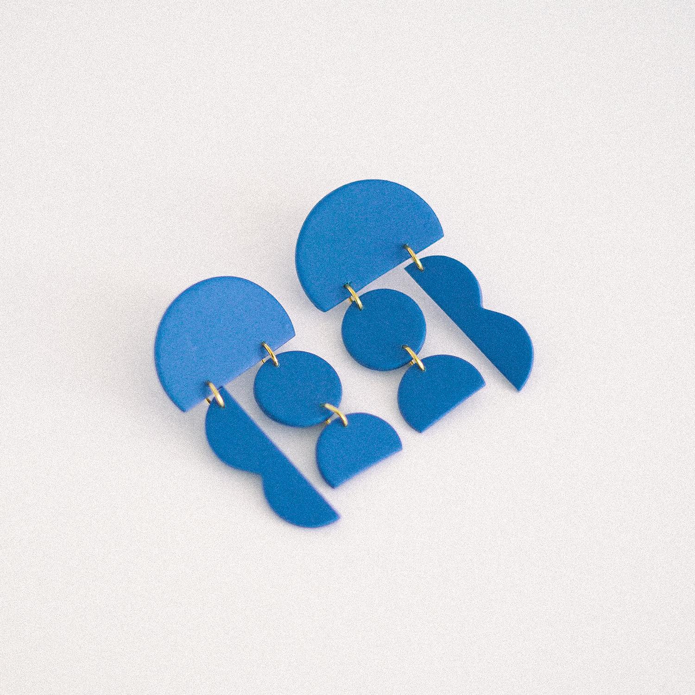 Aros Monocromo  Azul