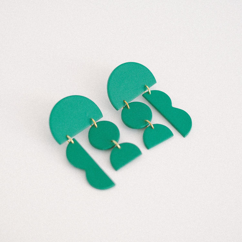 Aros Monocromo Verde