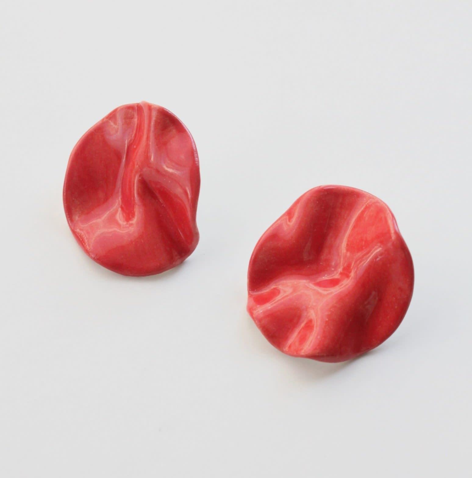 Aros Onda rojos