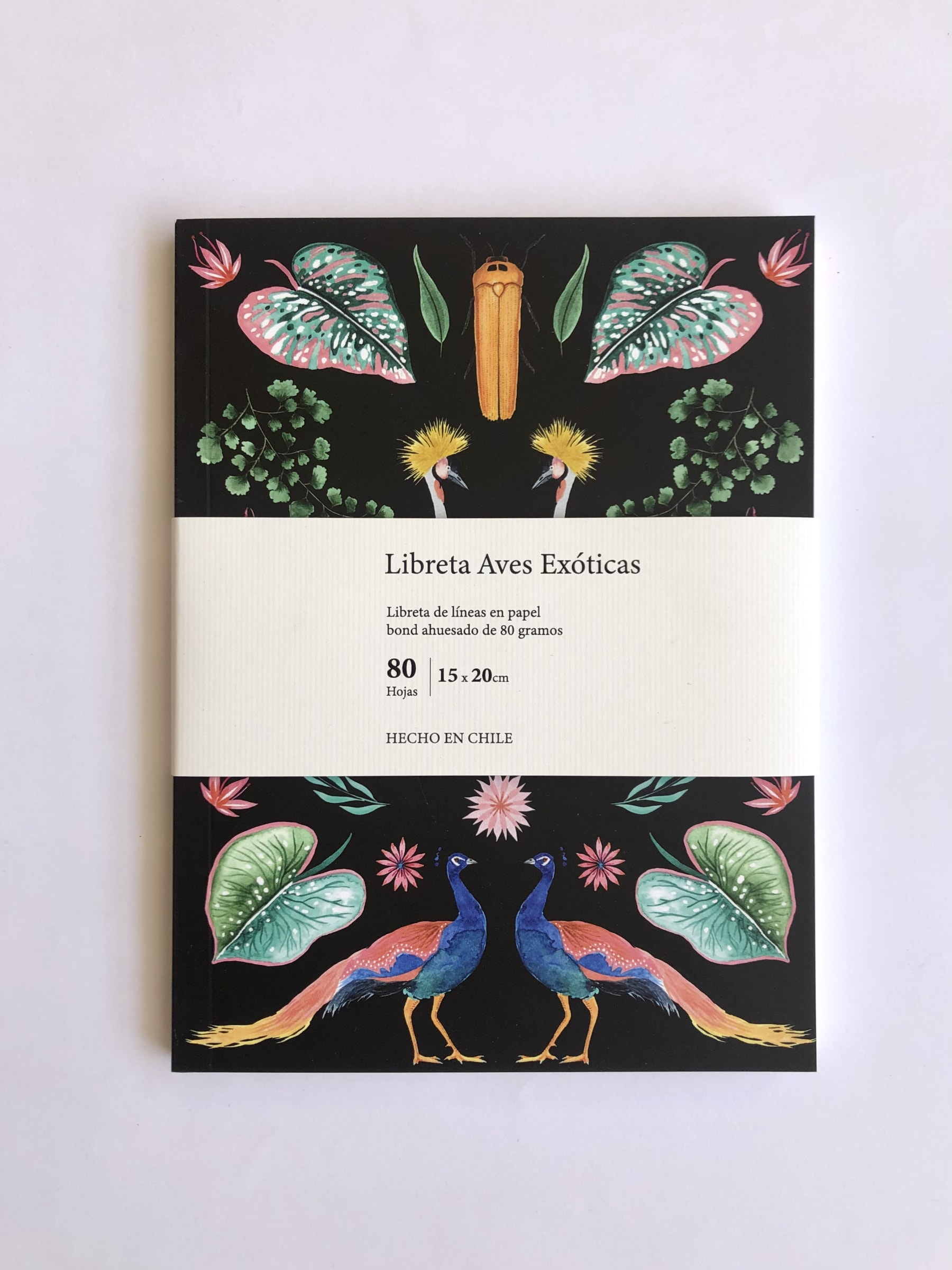 Cuaderno Aves Exóticas - Carmen Ilustra