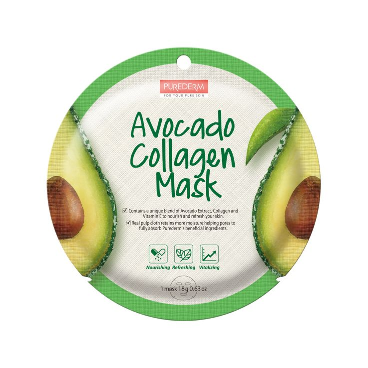 Avocado Collagen Mask