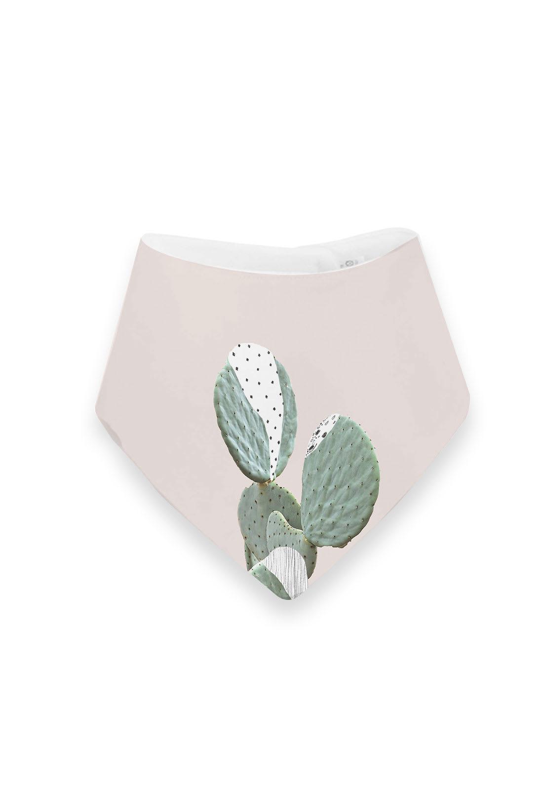 Babero Cactus Rosa