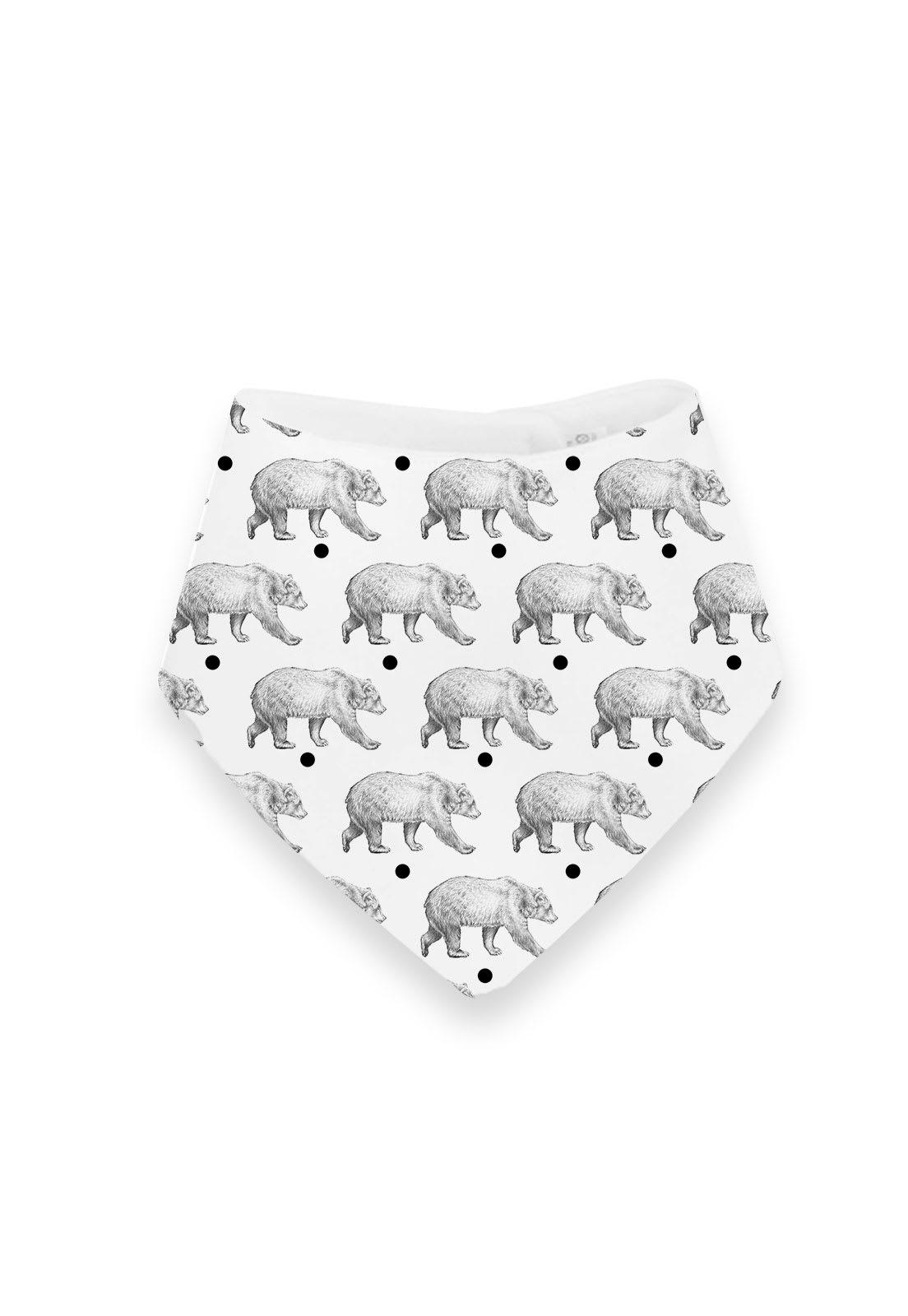 Babero Osos Pattern