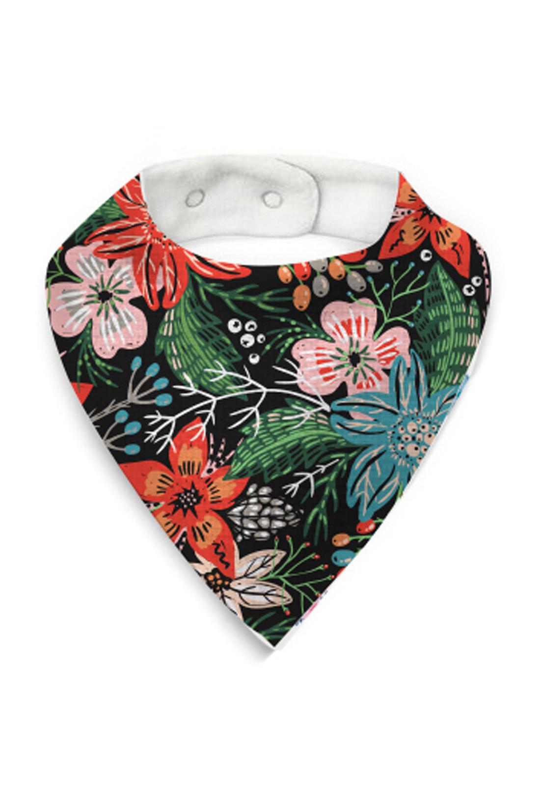 babero flores tropical