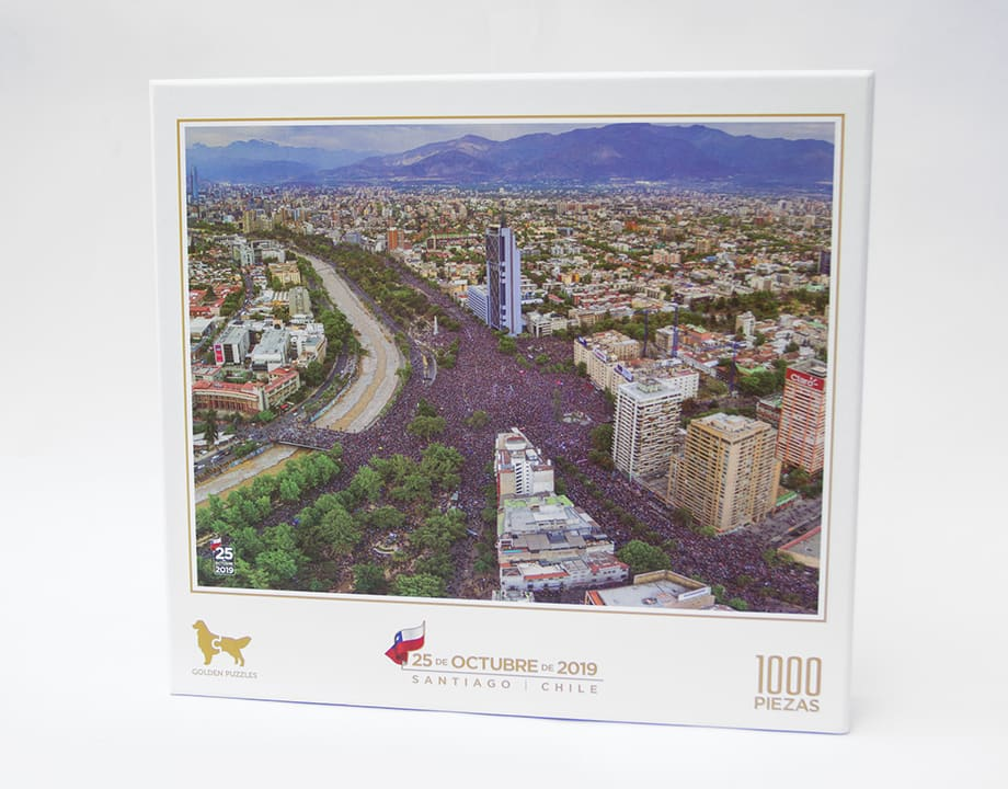 Puzzle Gran Santiago 1000 Piezas