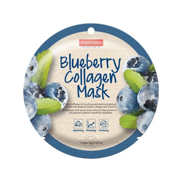 Blue berry Collagen Mask