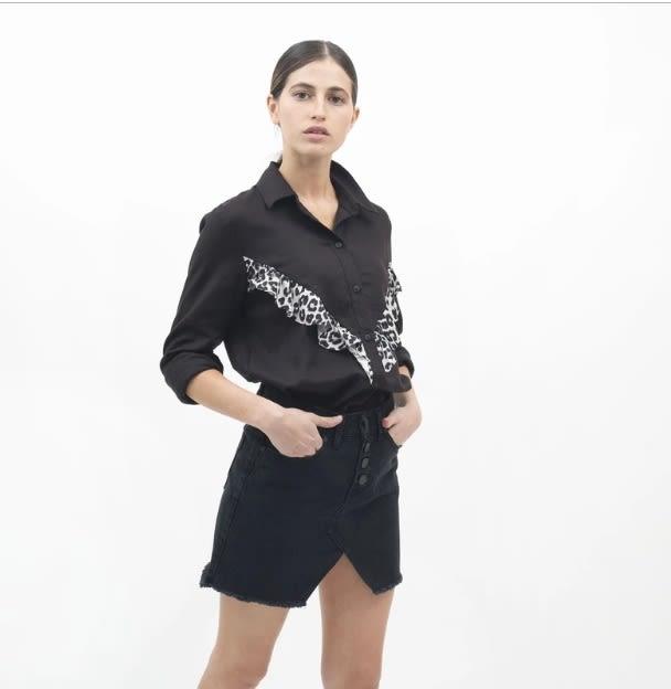 Blusa Ema Negra - Mona - Agrupa