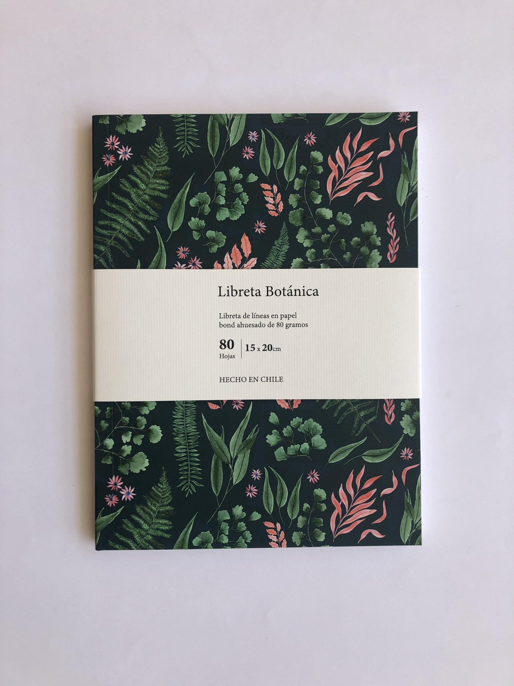 Cuaderno Botanica - Carmen Ilustra