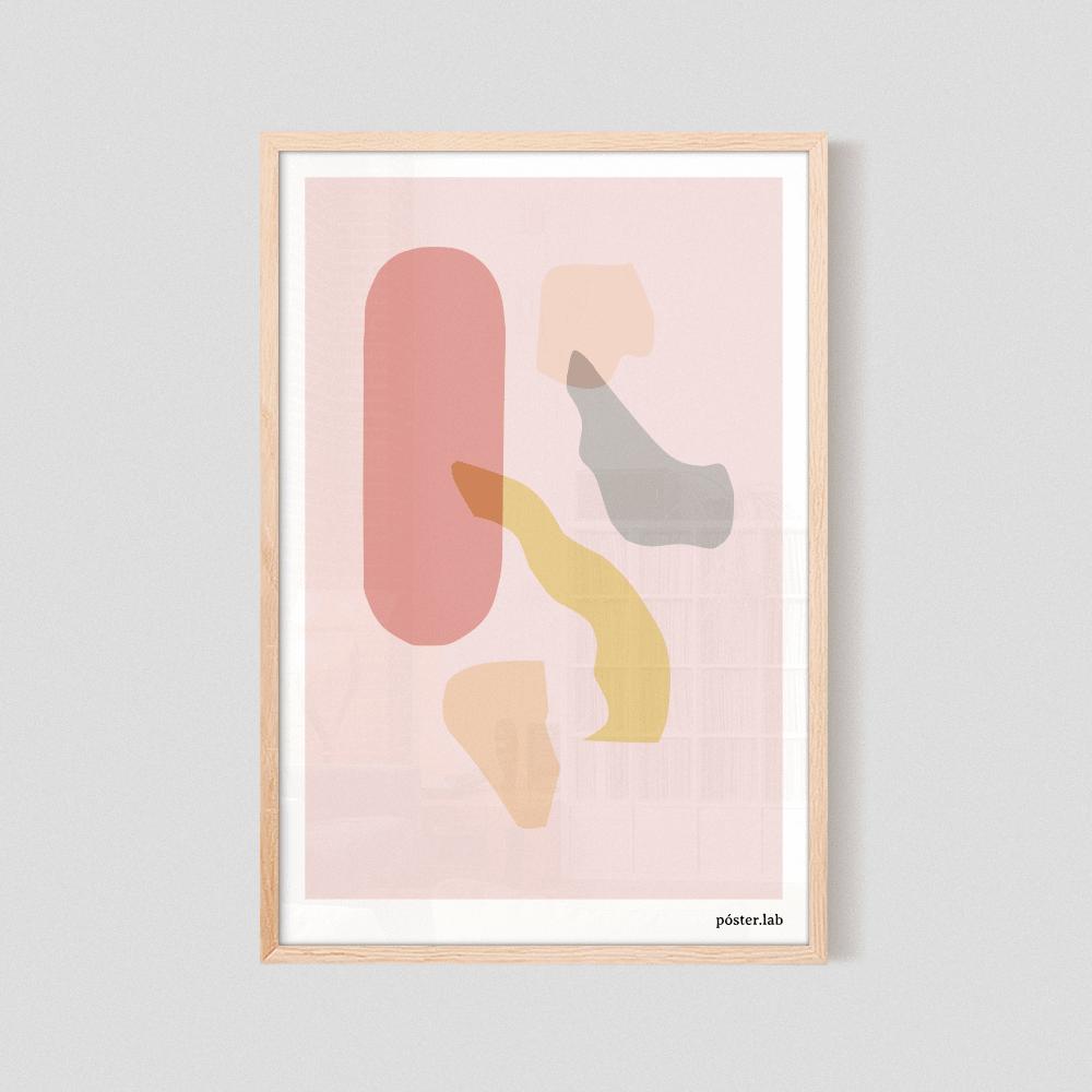 Cuadro Formas #04 43x63 cm