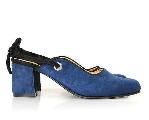Zapato  Pilar Azul