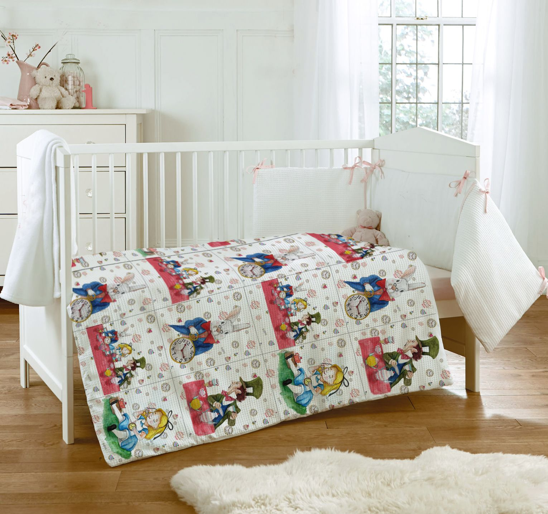 Cobertor  de Cuna + Cojin Alicia - Alamar