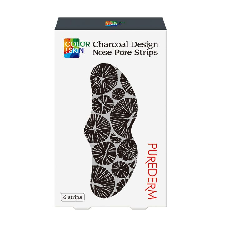 Charcoal Design Nose Pore Strip