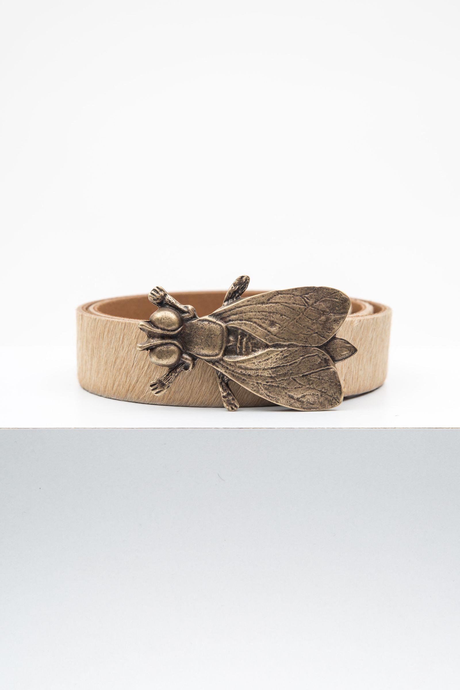 Cinturón Fly Brown Pelos