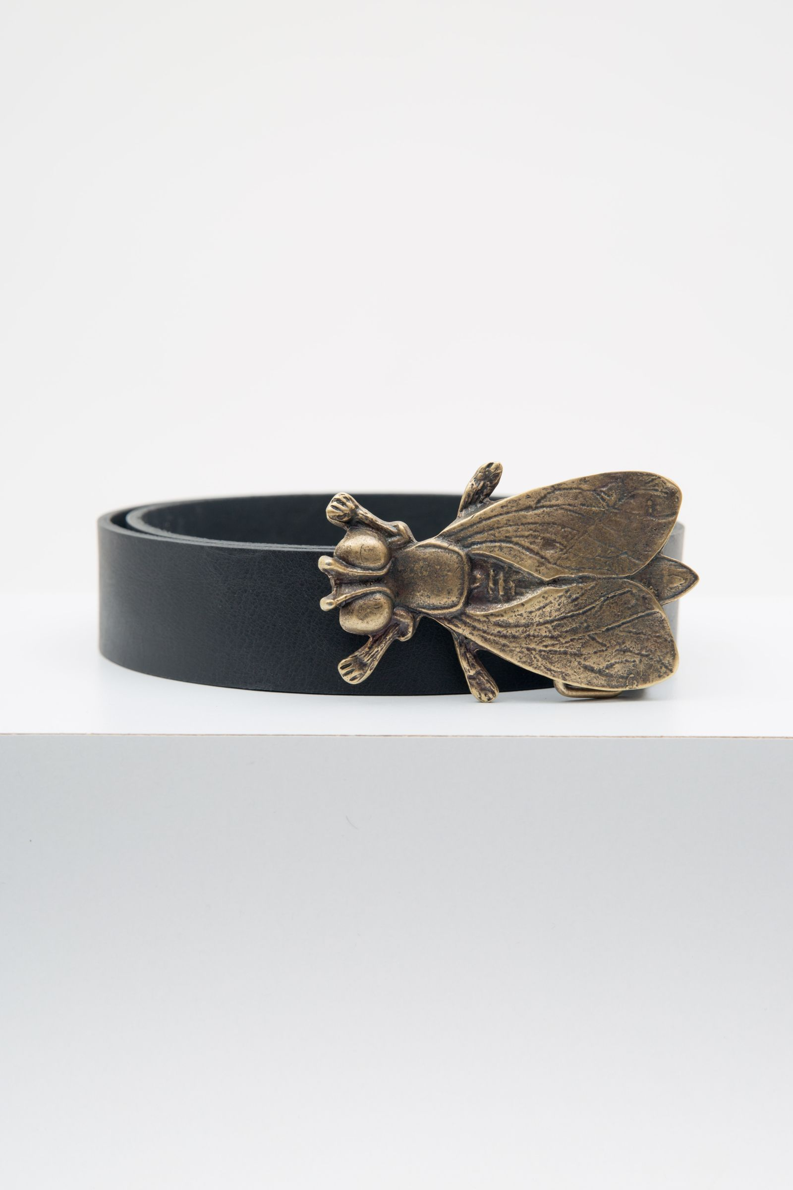 Cinturones Fly Negro Liso