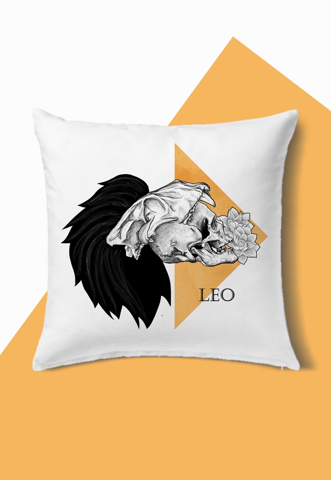Cojin Zodiac Leo