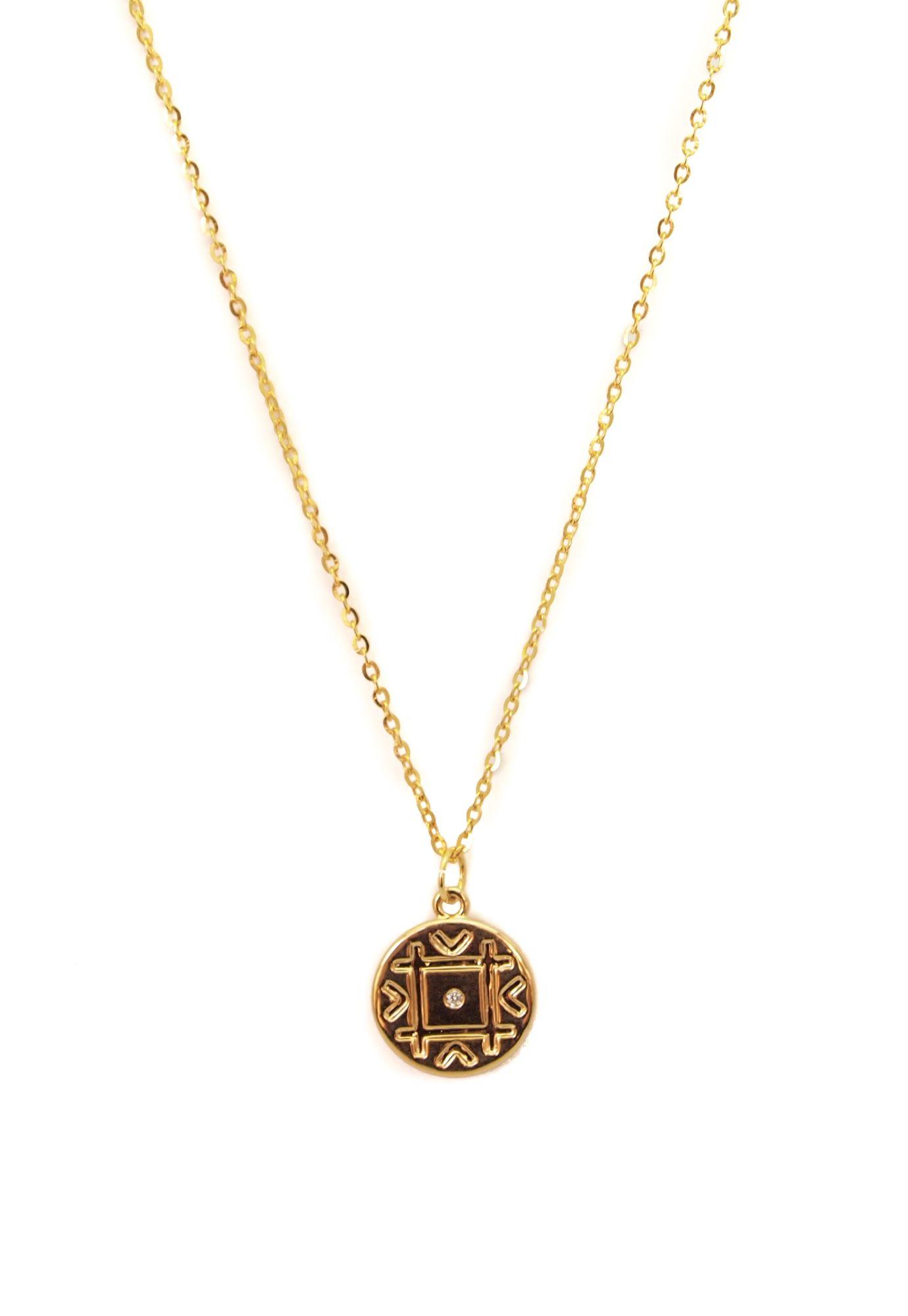 Collar Medalla Geo - MUSA ACCESORIOS