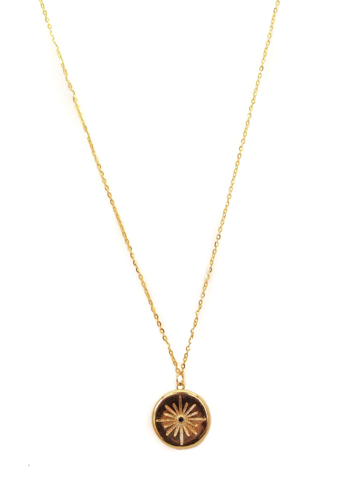 Collar Medalla Luz - Musa accesorios