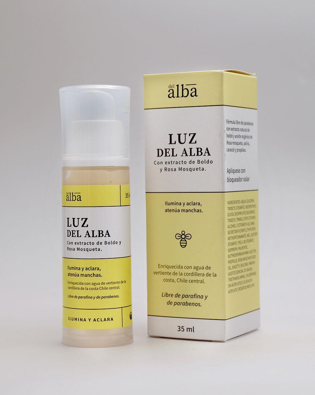 LUZ DEL ALBA - ALUMINADORA 35 ml