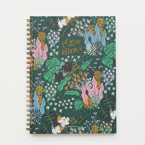 Cuaderno A4 Liso - A Year to Believe