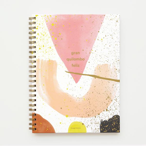 Cuaderno A4 Rayas- Gran Quilombo Feliz