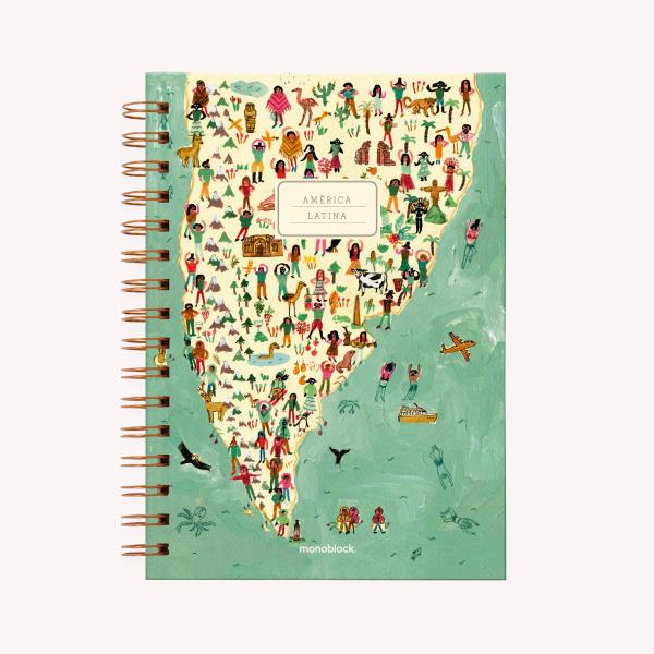Cuaderno A5 15x21 TD ANI PUNTEADO 2019 HAPPIMESS AMERICA LATINA