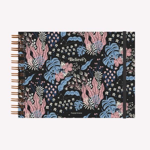 Cuaderno Anillado Apaisado - Belive