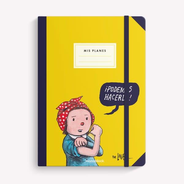 Cuaderno Cosido Liso Tapa Dura - Podemos Hacerlo