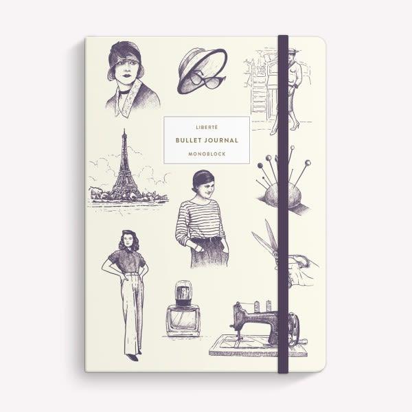 Cuaderno Cosido Punteado - Coco Chanel