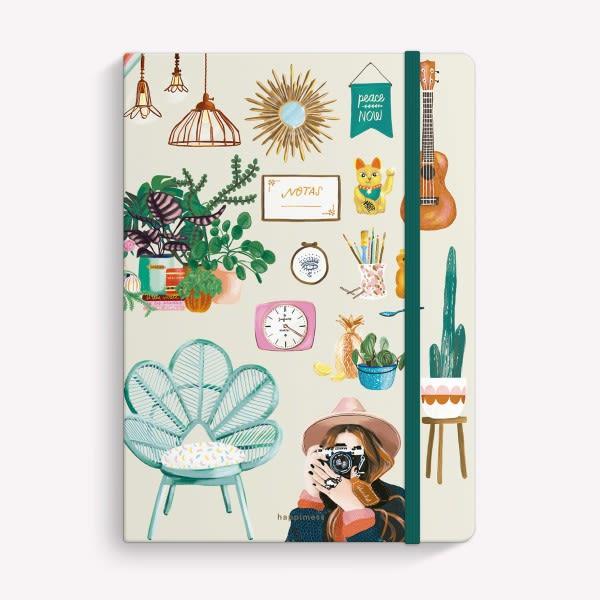 Cuaderno Cosido Rayado - Mi Tiempo es Oro