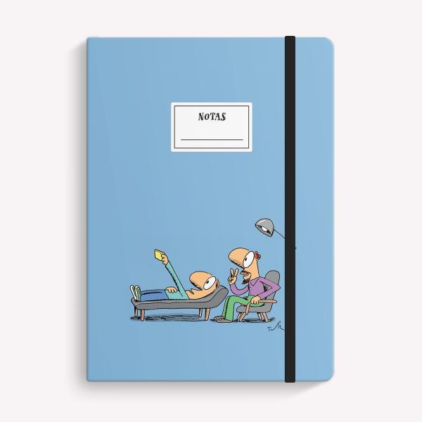 Cuaderno Cosido Rayado - Selfie