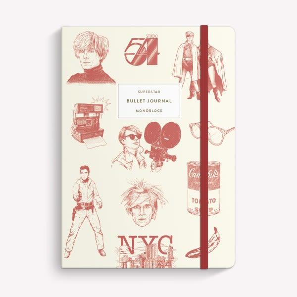 Cuaderno Cosido Punteado - Warhol
