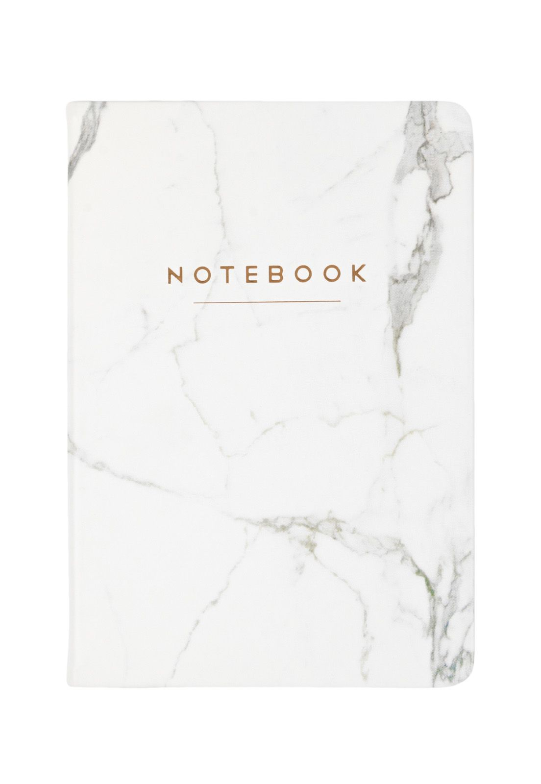 Style Journal White Marble Notebook 15x20cm