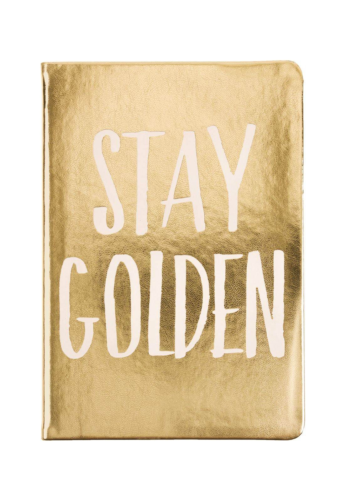 Style Journal Gold Stay Golden 15x20cm