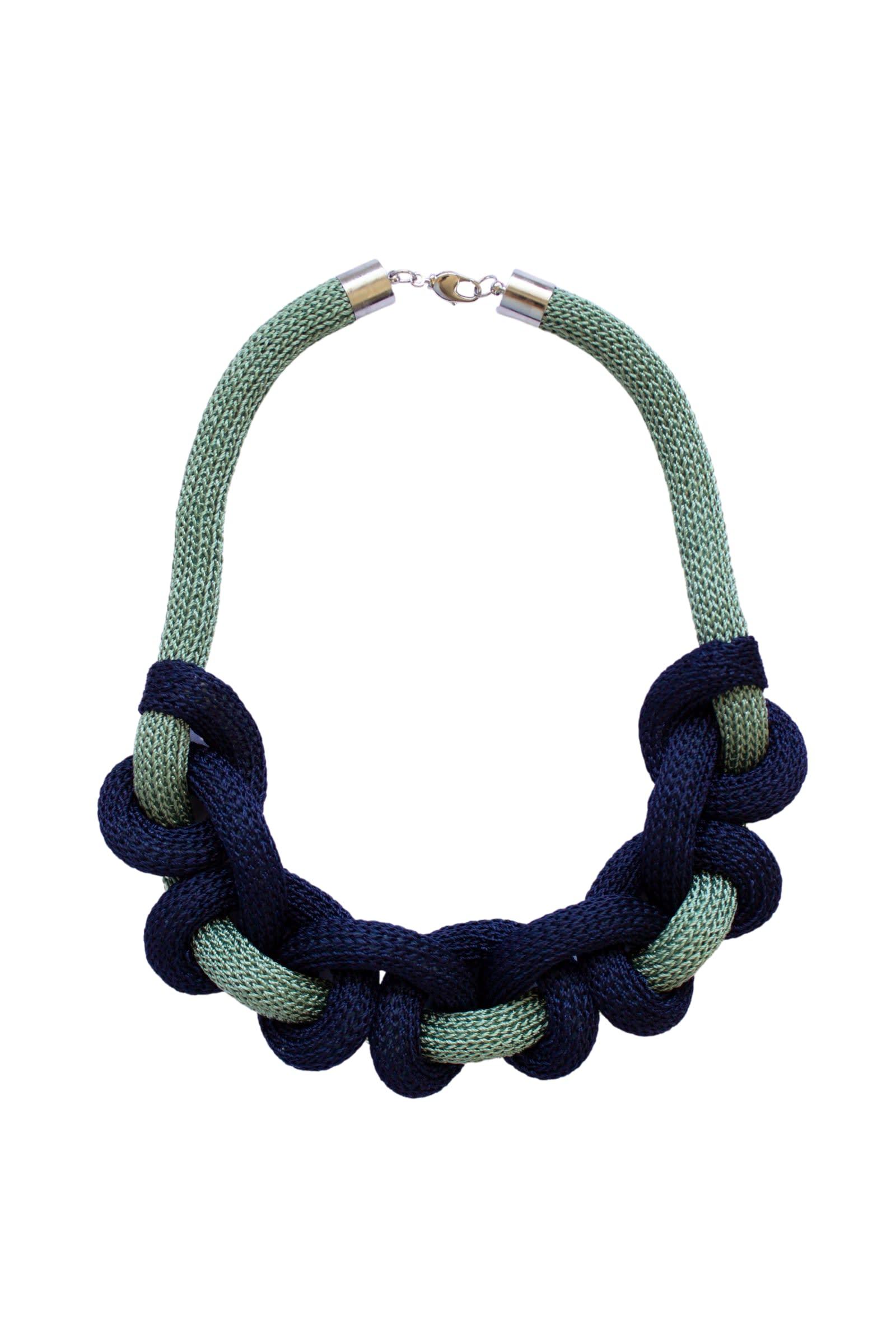 Collar Doris Verde - Azul - Galga