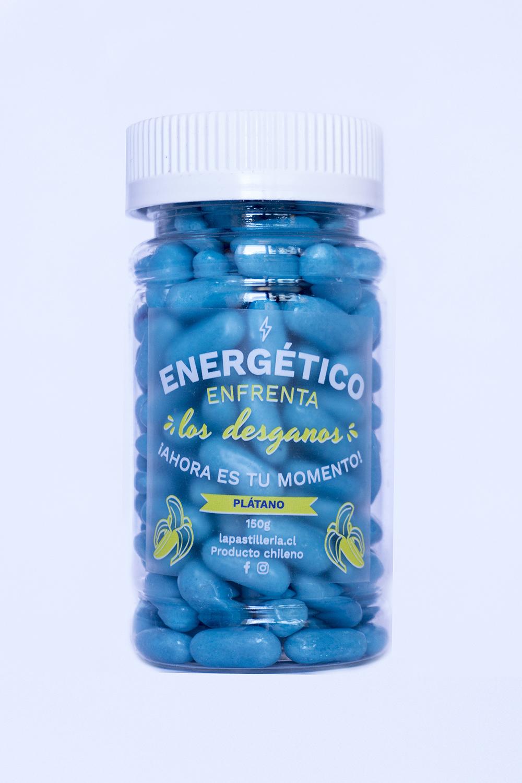 Pastillas S Energetico azul