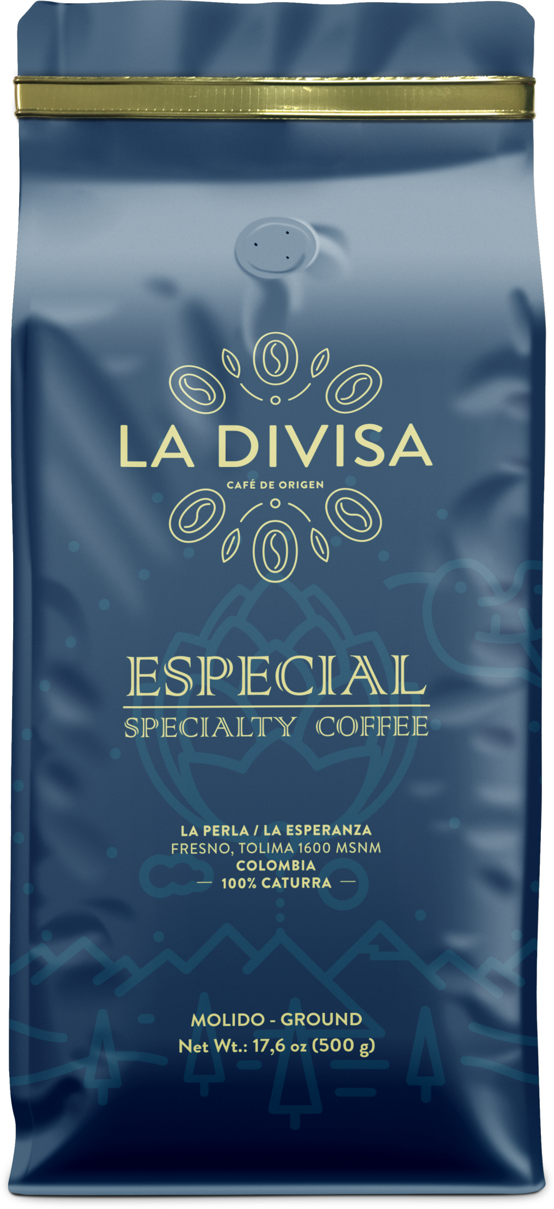 Café Especial MOLIDO 500g - La Divisa