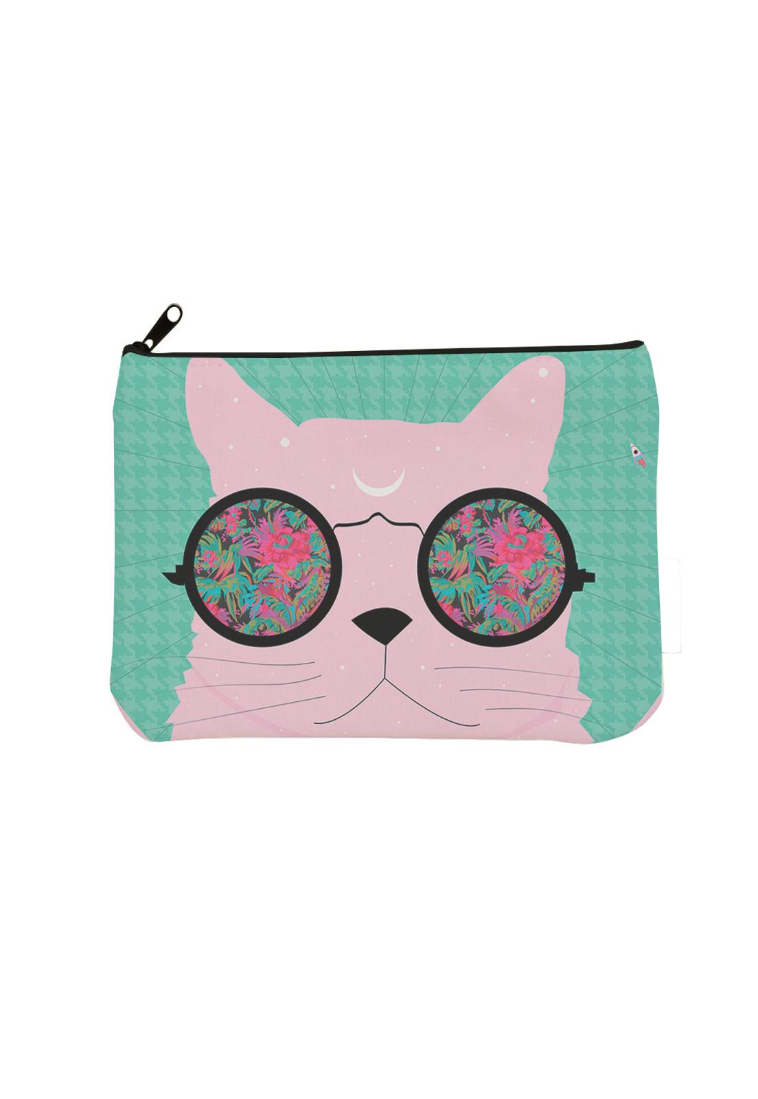 estuche gato tropic rosa bosquetro