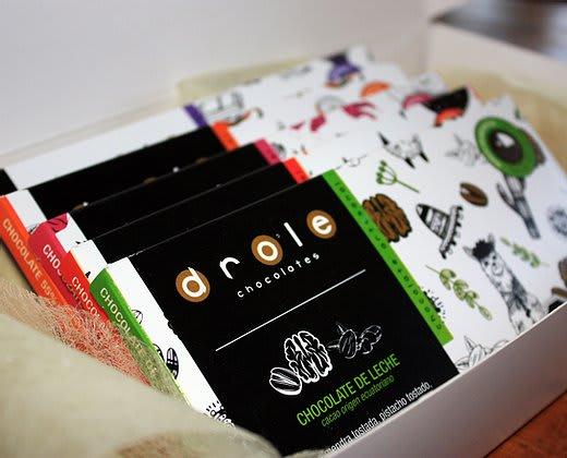 Caja 5 tabletas chocolate Drole
