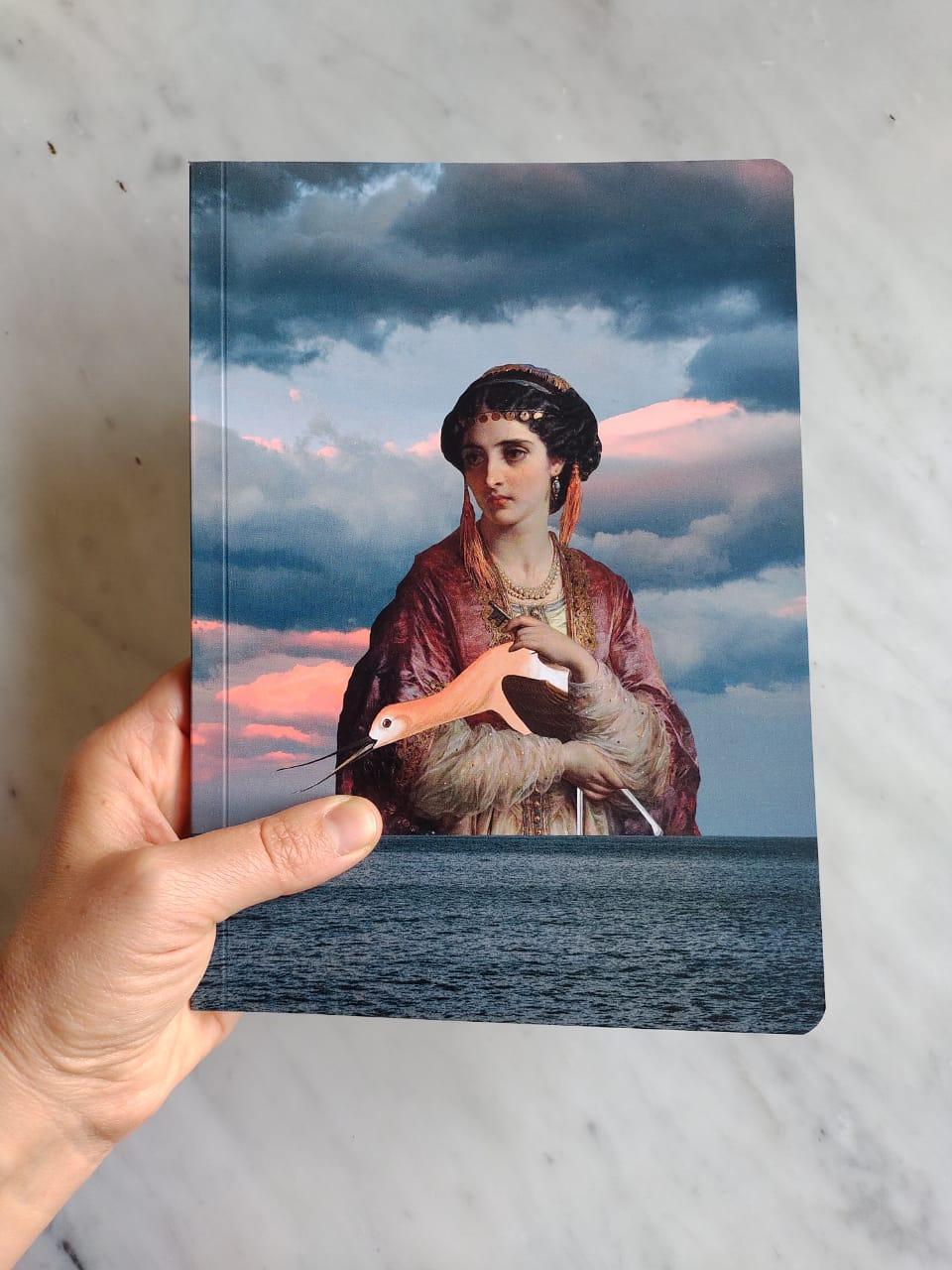 Libreta Mujer Mar - @catadonzecollage