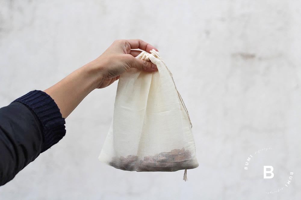 Bolsa filtro para leches vegetales - Bumi Lifestyle