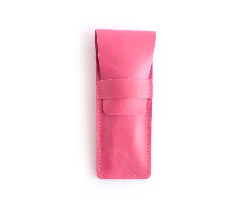 Estuche cuero Pink