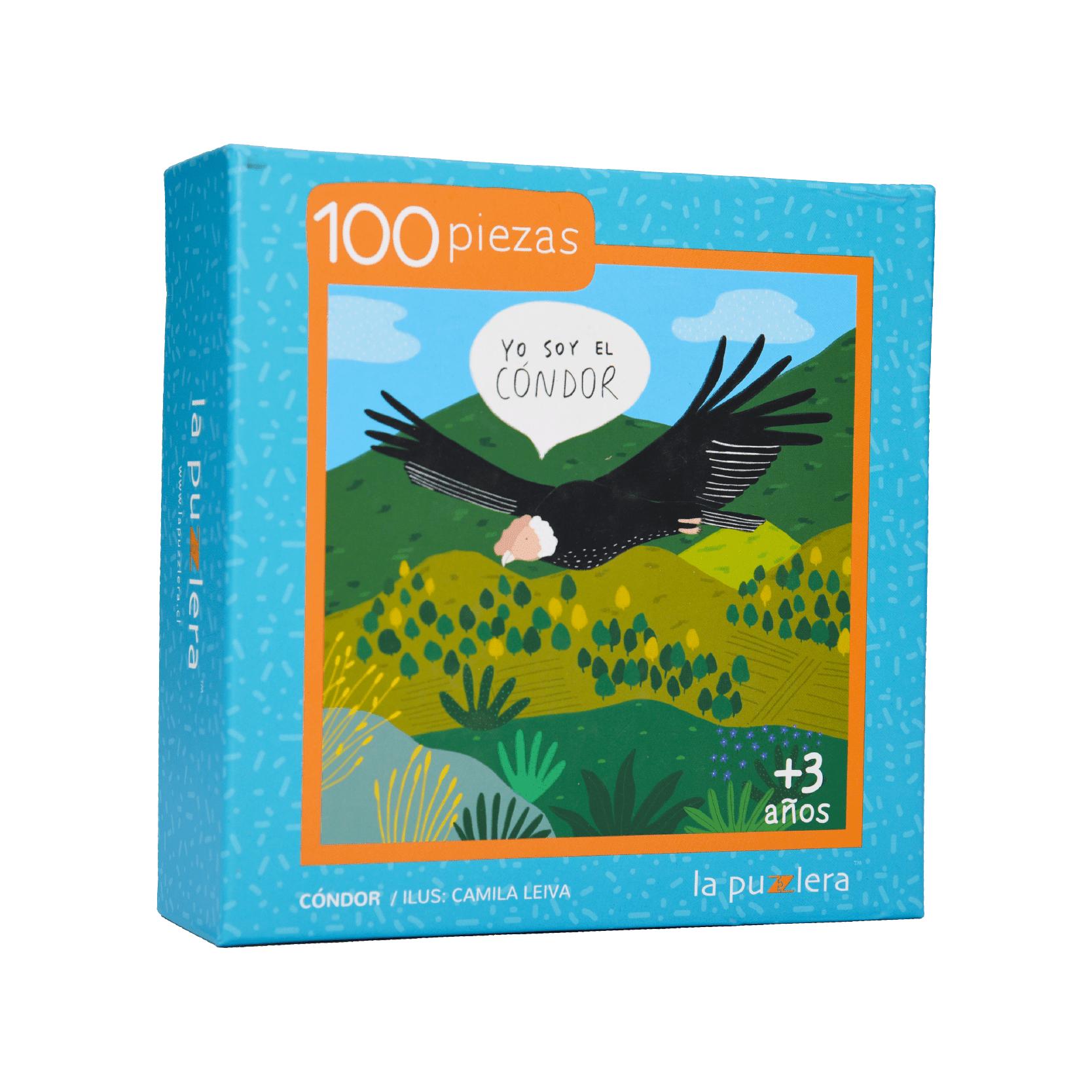 Puzzle Condor 100 Piezas