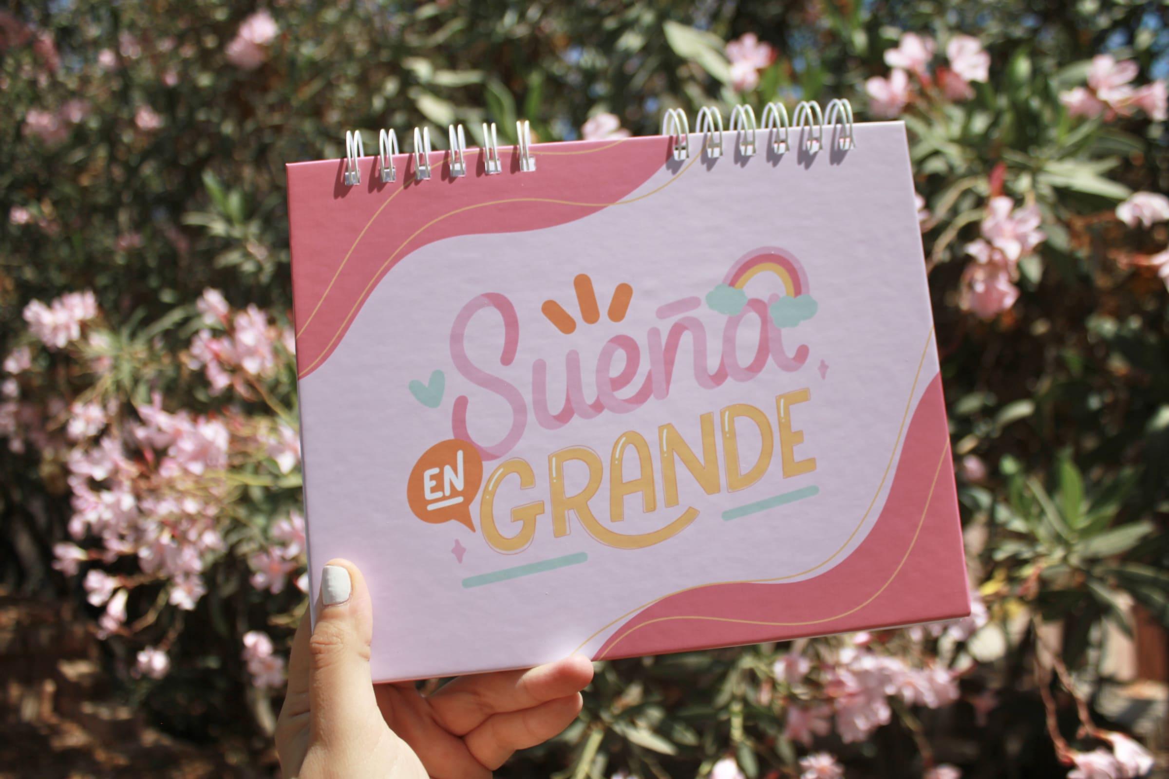 Planner semanal - Letrarte Rosado