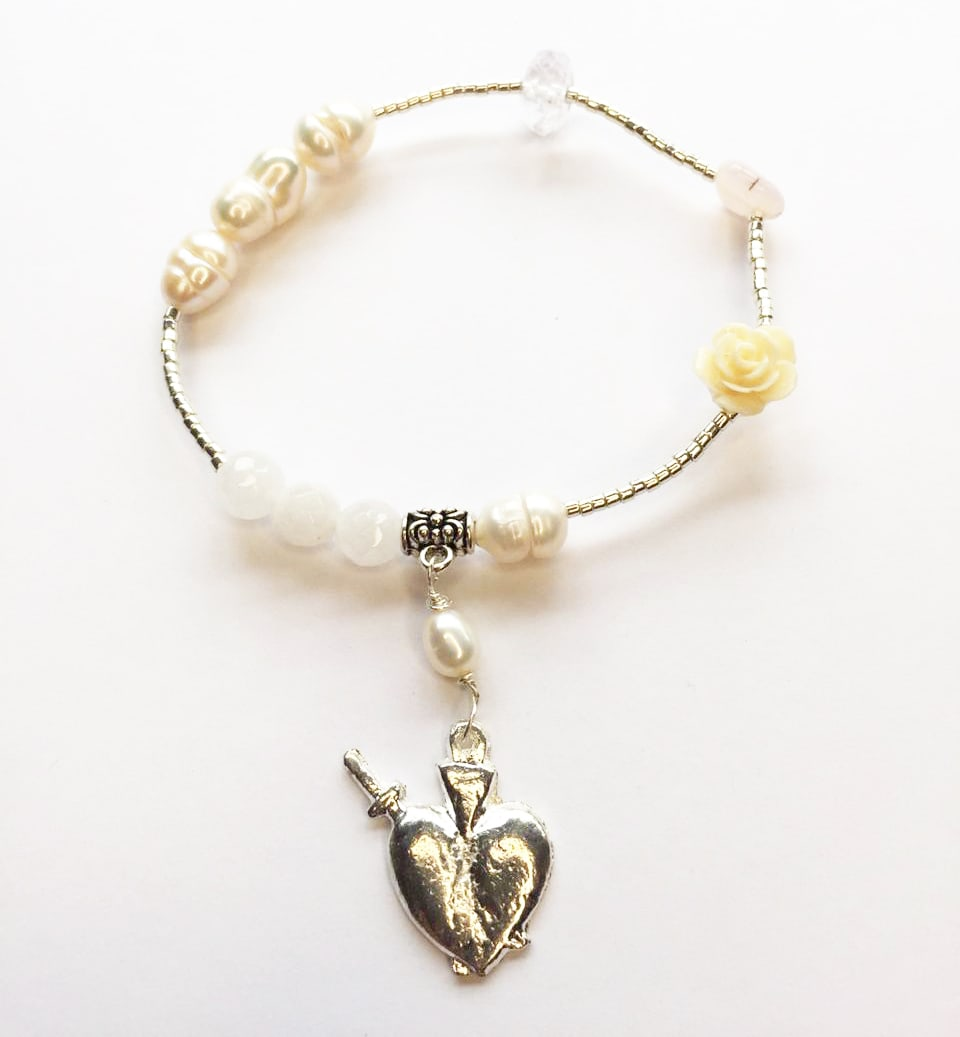 Pulsera milagrito perla