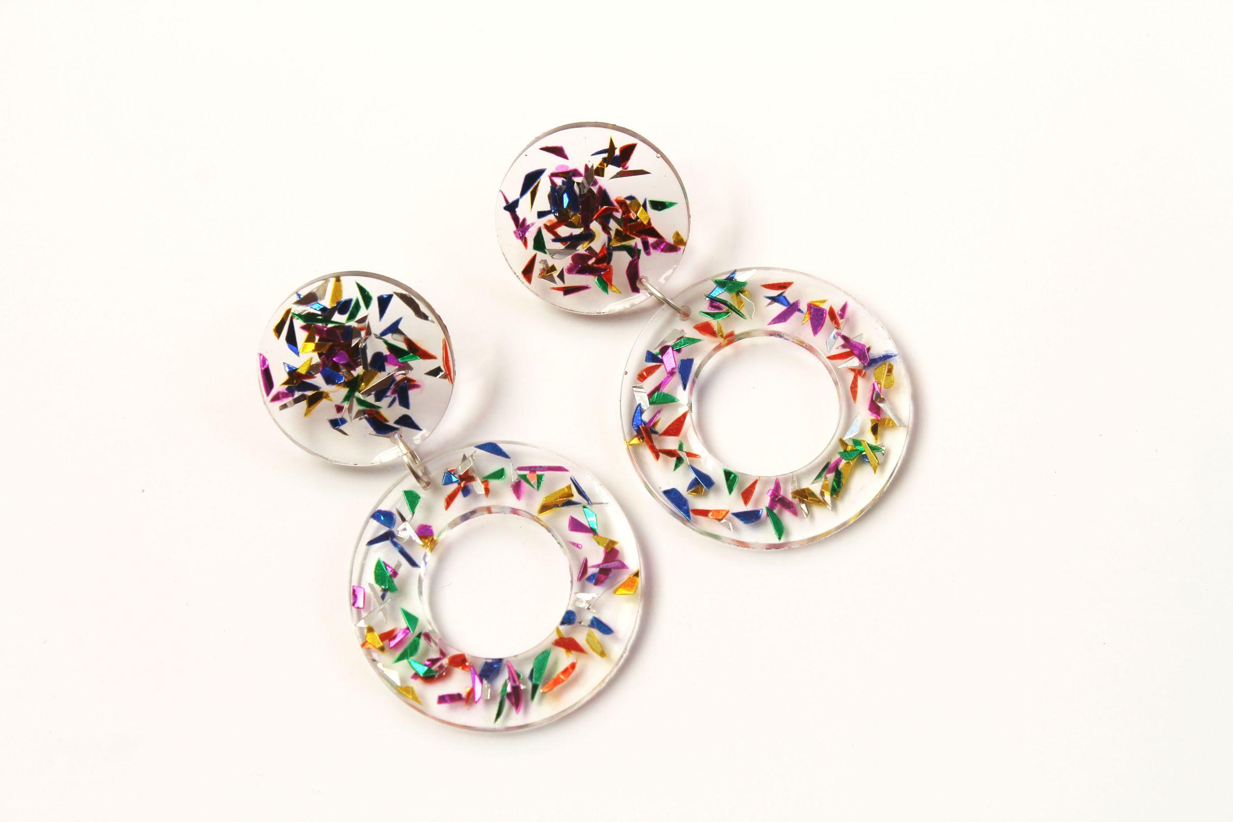 Aros Circulos Multicolor