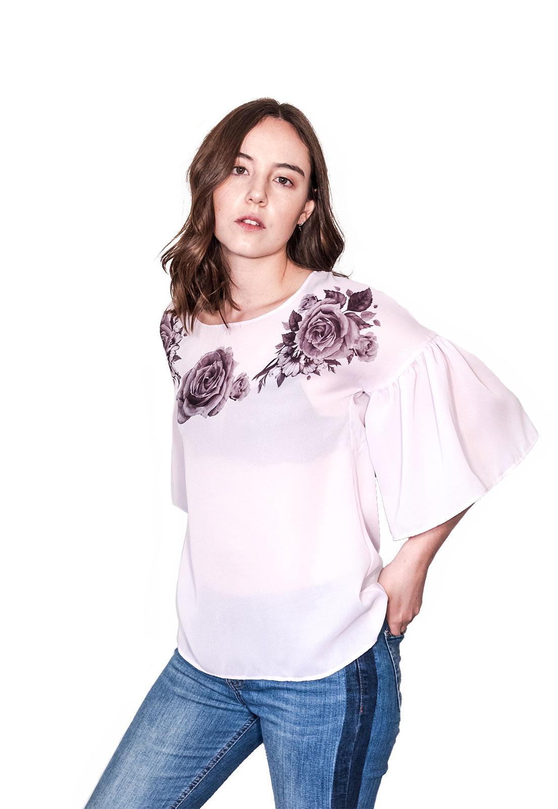 Blusa Rosada Frida
