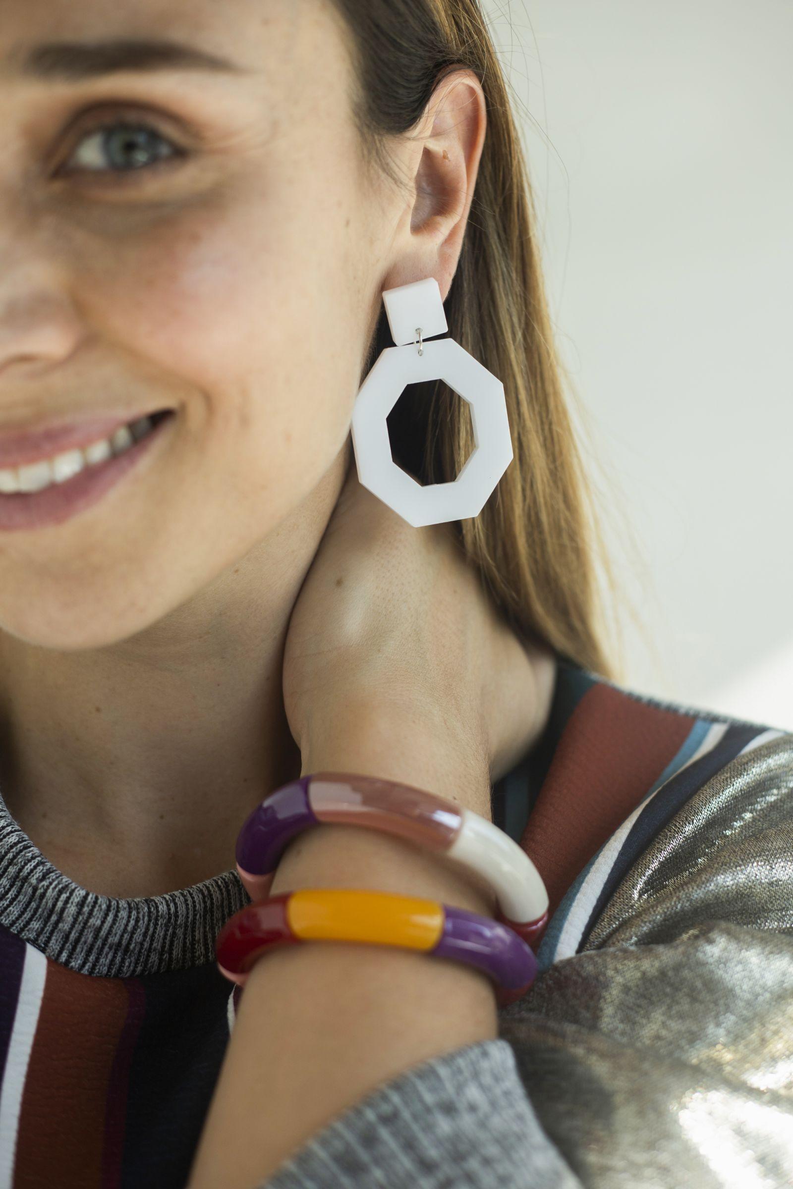 Aros Janis Blanco - MN Designs