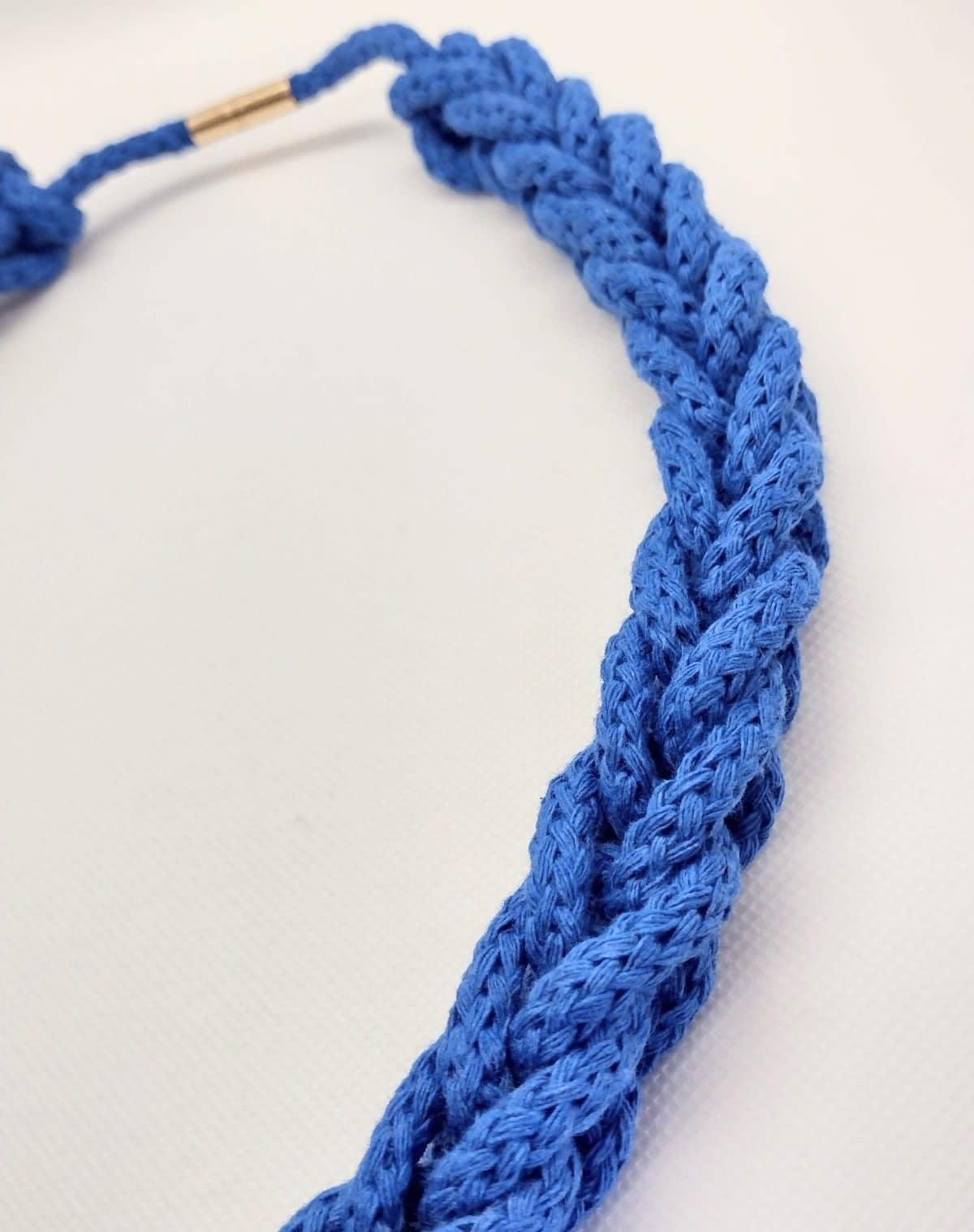 Collar Jamaica azul -Ulana
